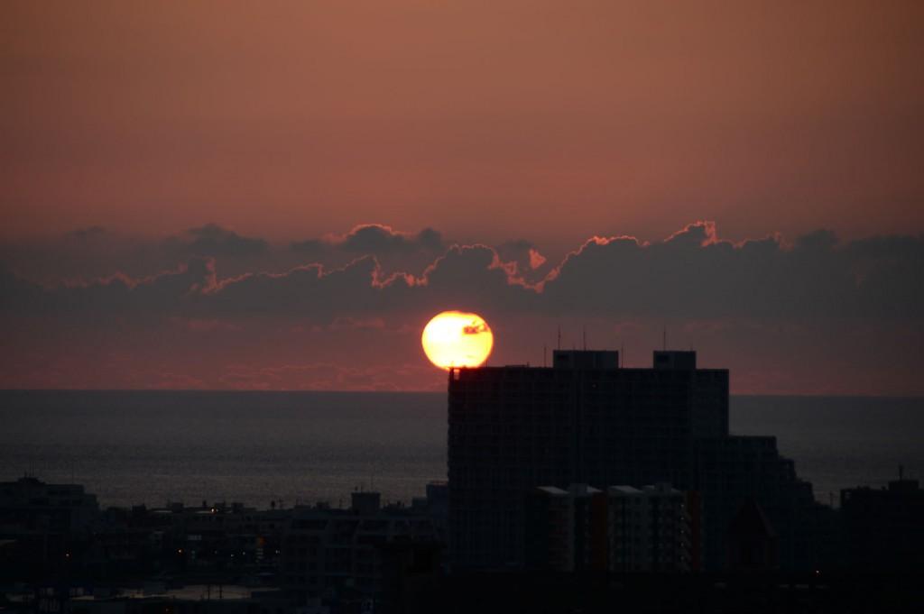 沖縄 夕日 サンセット