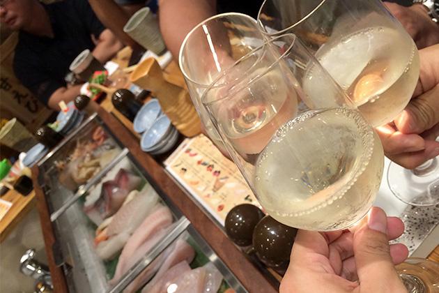 国際通り屋台村 ちょこっと寿司