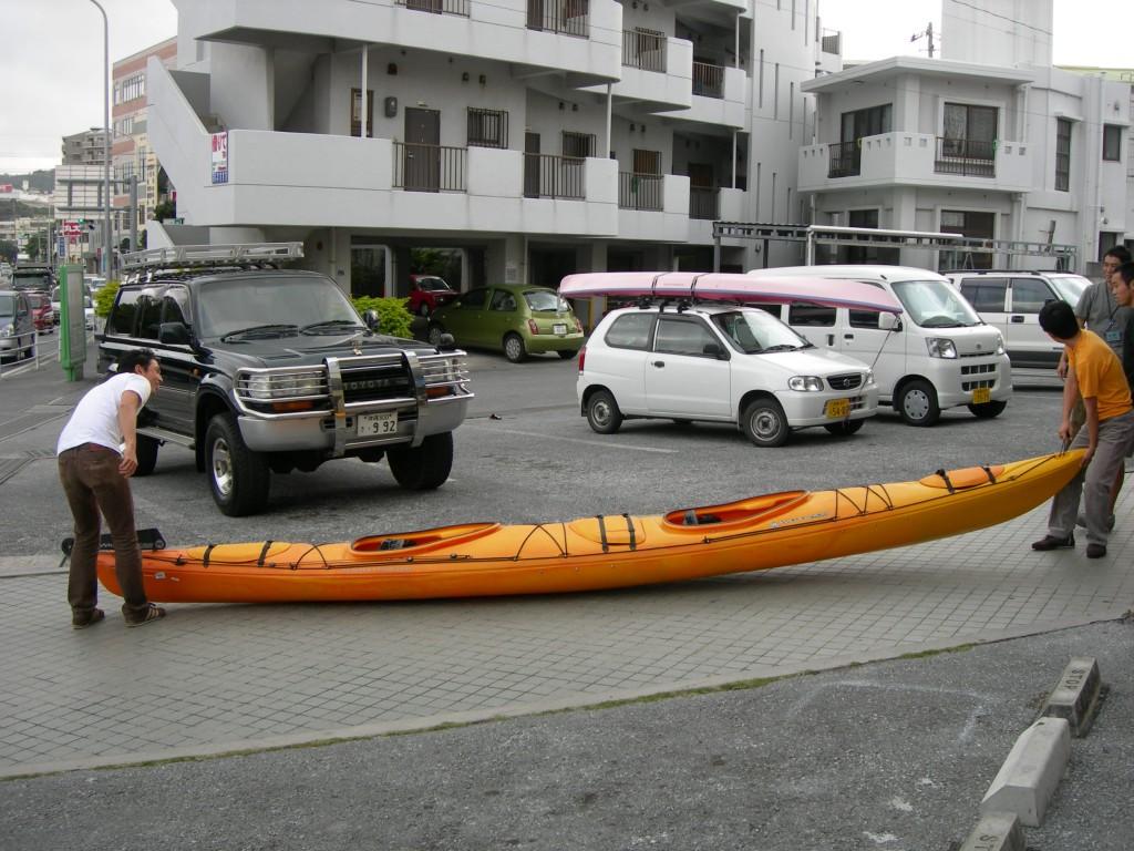 kayak カヤック ホント長い