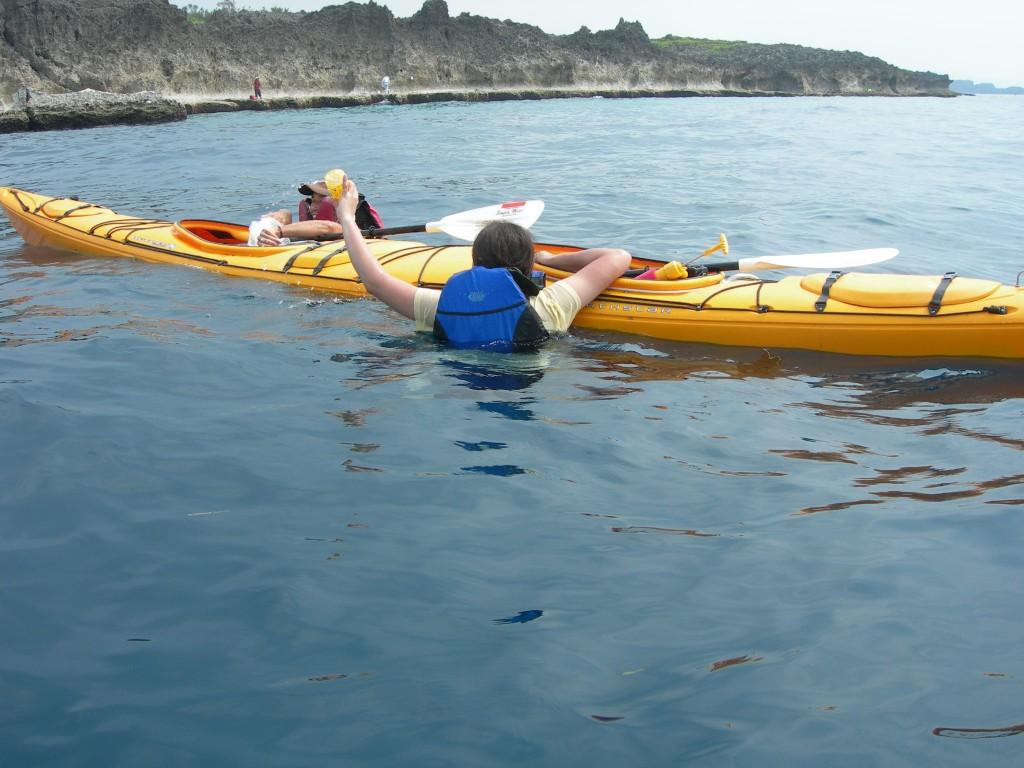 kayak カヤック 転覆