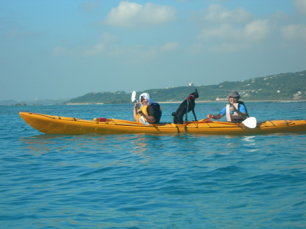 kayak カヤック 海上散歩