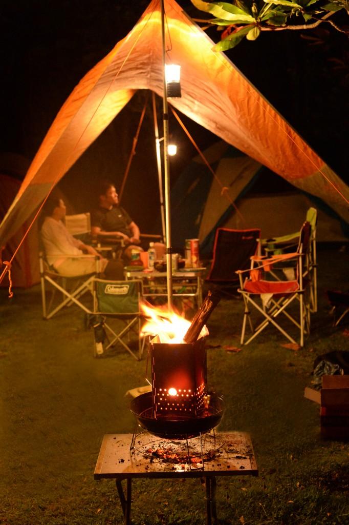 つつじエコパーク キャンプ