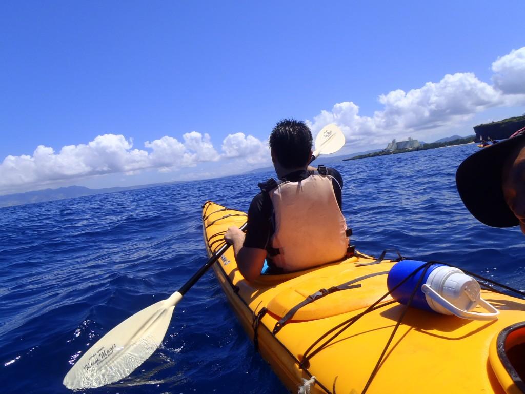 kayak カヤック 大海原