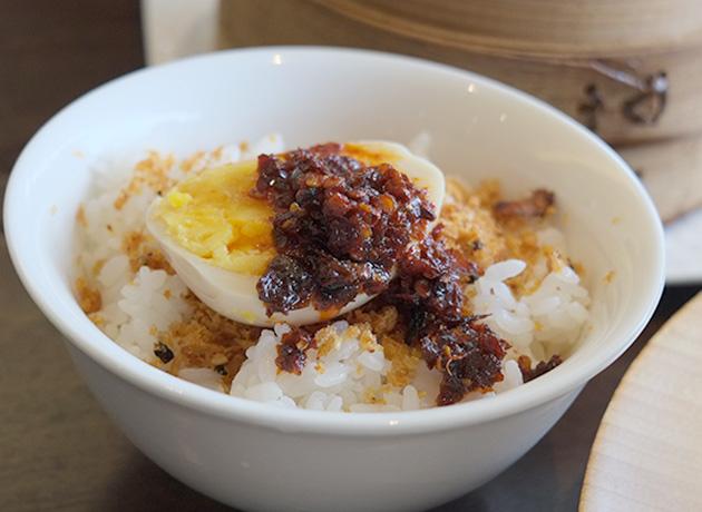 上海ヌードル珊香港うまラー油ぶっかけ飯