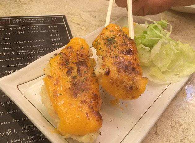 洋琉居酒屋じゅんちゃんグルクンうにソース焼き