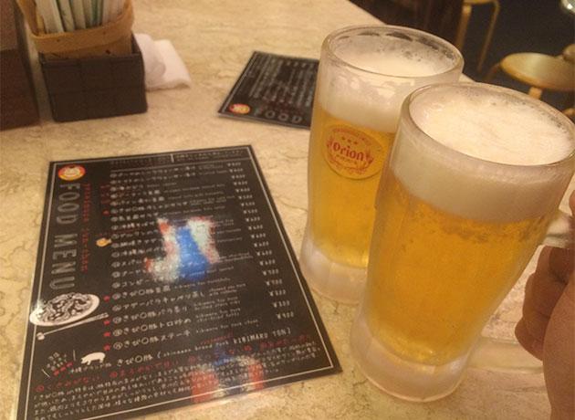 洋琉居酒屋じゅんちゃん-ビール