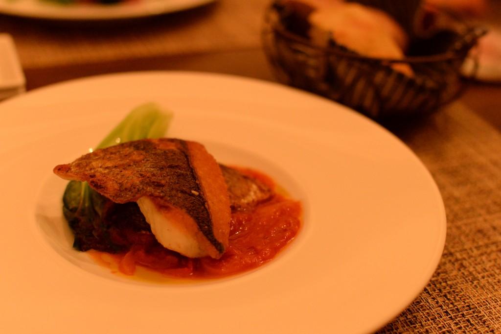 お魚料理 シチューマチのソテー