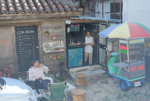 ベトナム屋台コムゴンー屋台