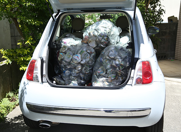 アルミ缶集荷 金属リサイクル