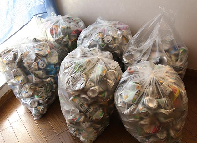 アルミ缶 金属リサイクル