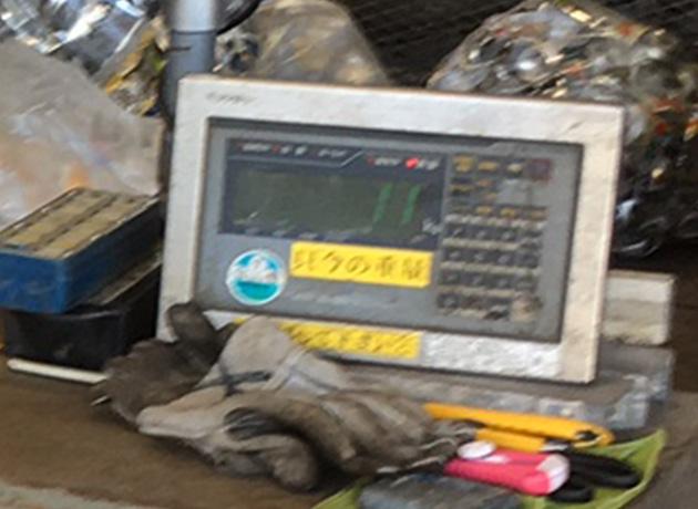 アルミ缶計量 金属リサイクル